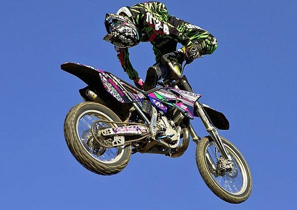 Motocross Scrambling Italy Fmx Motorcycle Motorbik