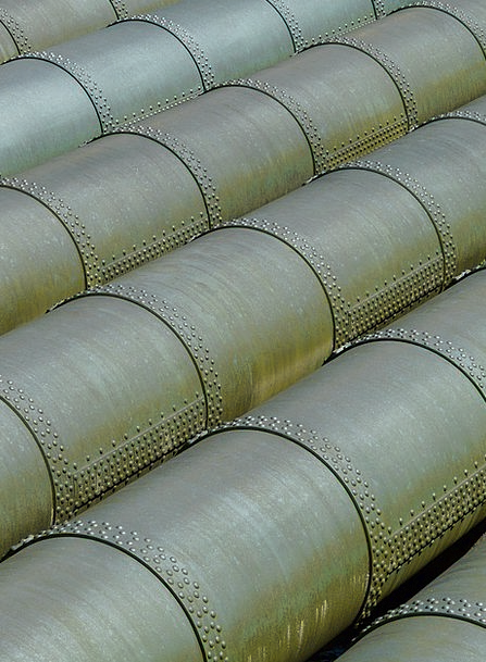 Pipes Piping Water Pipe Standpipe Copper Line Stre