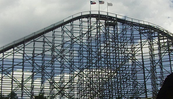 Rollercoaster Vacation Magnetism Travel Ride Trip