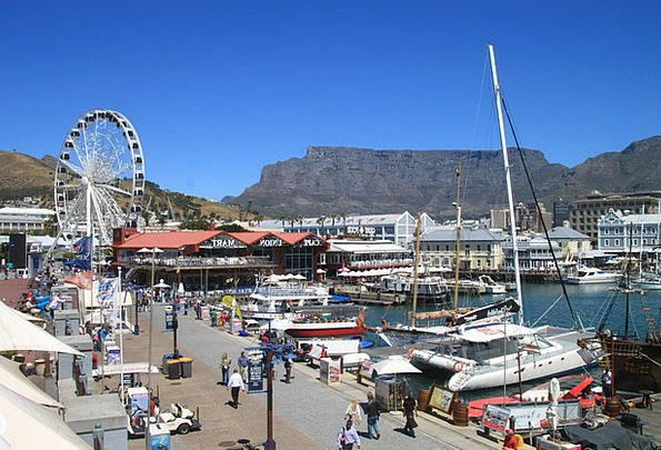 Cape Town Vacation Travel Beach Seashore South Afr