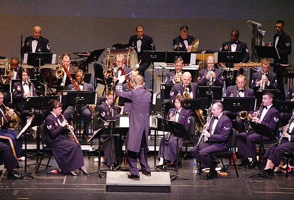 Orchestra Group Concert Military Band Musical Unif