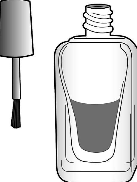 Brush Encounter Medical Flask Health Nail Pin Bott