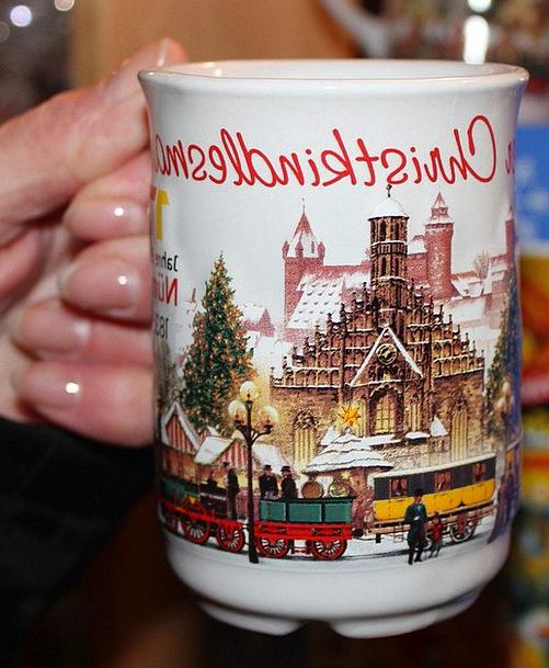 Mulled Wine Drink Food Nuremberg Christmas Market