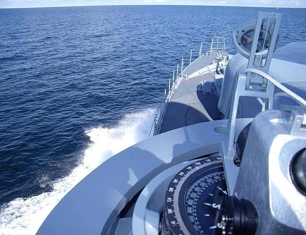 Speedboat Motorboat On The High Seas Weasel Boot B