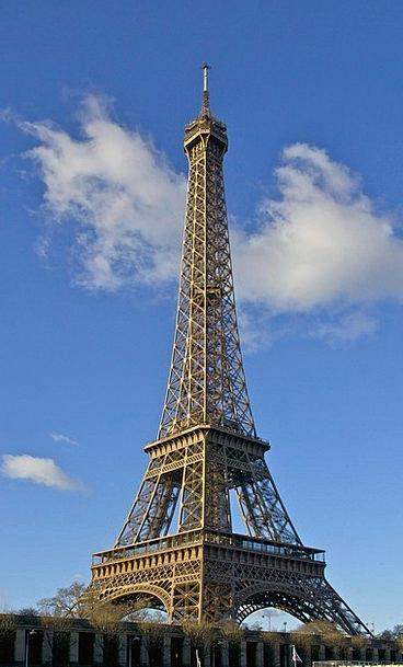 Eiffel Tower Buildings Horizon Architecture Monume
