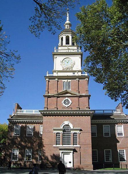 Independence Hall Buildings Architecture Pennsylva