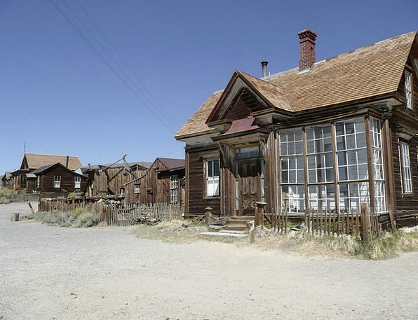 Bodie Buildings Architecture California Ghost Town