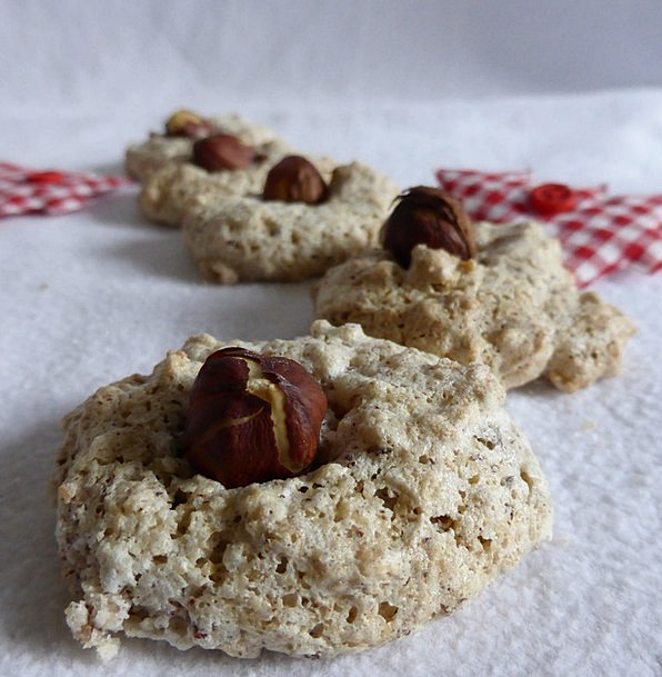 Christmas Cookies Hazel Nut Pastries Cookie Christmas Time