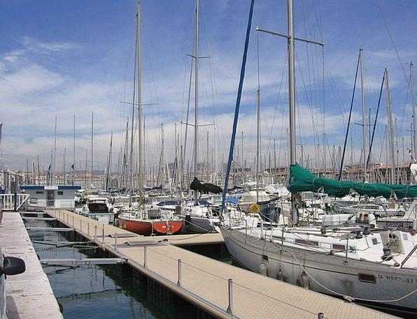Marseille Harbor Mediterranean Port Holiday Break