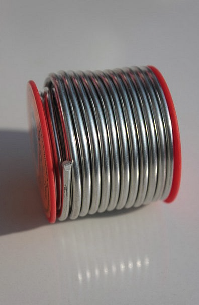 Copper Metallic Silver Gray Metal Solder Fuse Tin