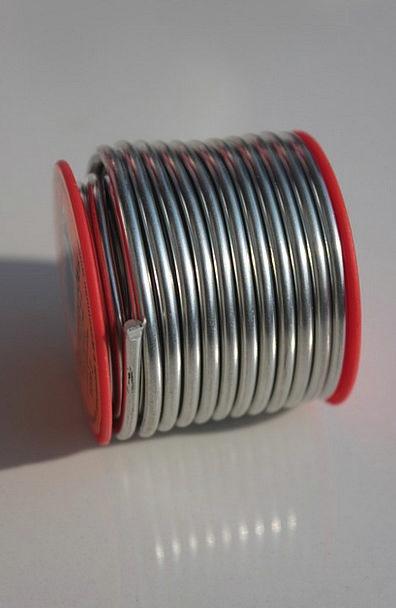 Copper Metallic Silver Gray Metal Solder Fuse Tin
