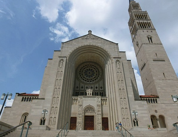 Usa Ecclesiastical Washinton Church Basilica Of Th