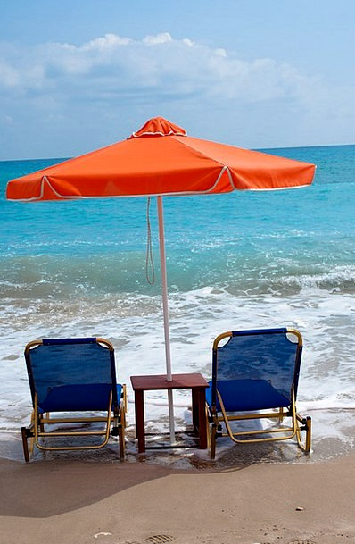 Beach Seashore Vacation Canopy Travel Chair Chairp