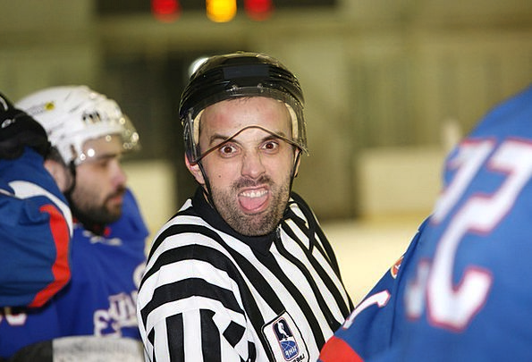 Ice Hockey Arbitrator Sports Sporting Referee Wint