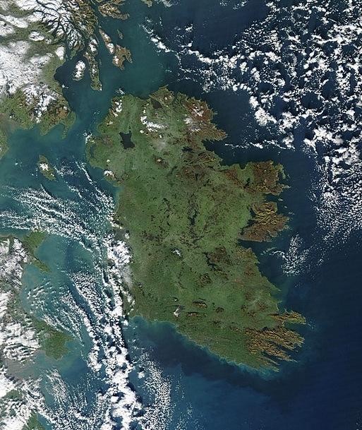 Ireland Midair Satellite Image Aerial Satellite Ph