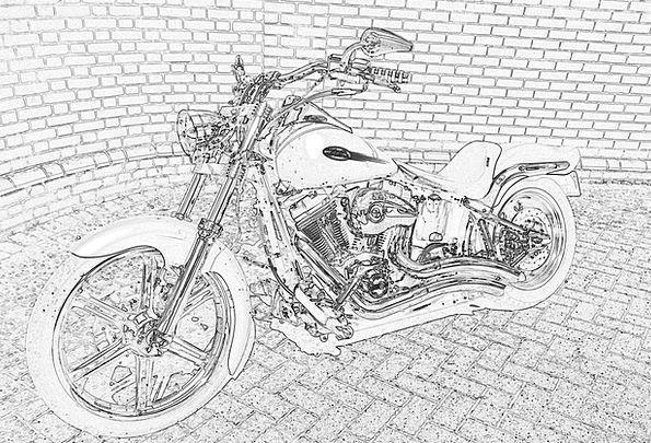 Motorbike Bike Harley Davidson Superbike