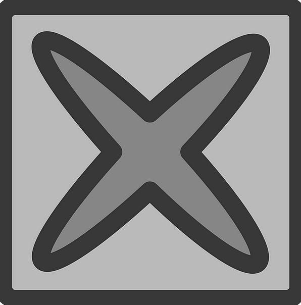 Delete Key Star Interstellar Button Erase Cross Ir