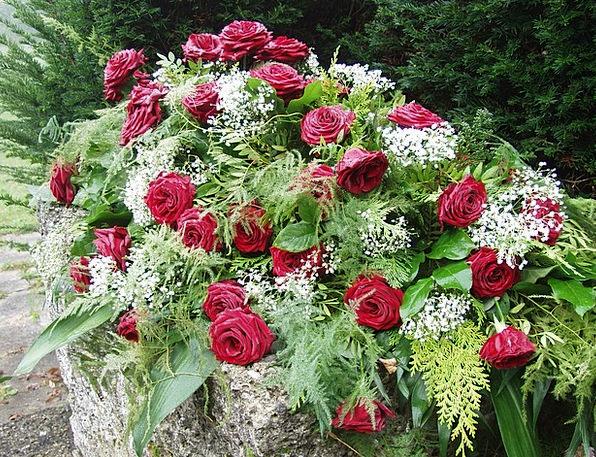 Roses Designs Cemetery Graveyard Morning Mist Mour