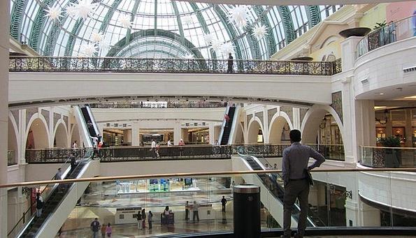 Shopping Mall Mall Coating Dubai Layer The Glass C
