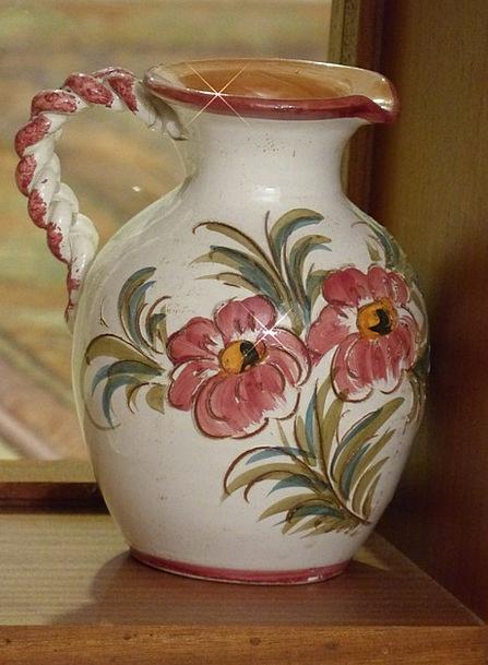 Vase Urn Painted Tinted Flower Vase Water Jug Sound Complete