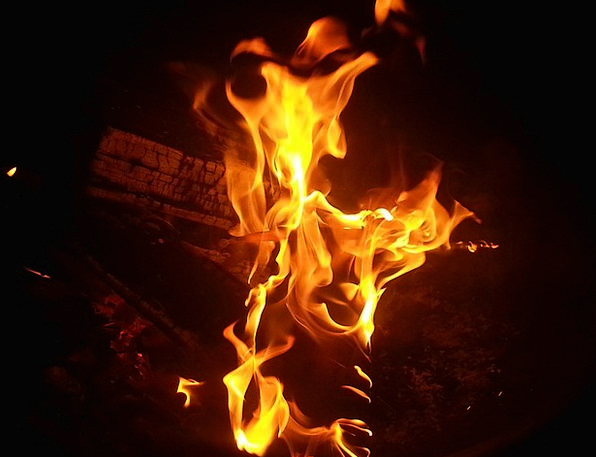 Campfire Passion Burning Red-hot Fire Inferno Flam