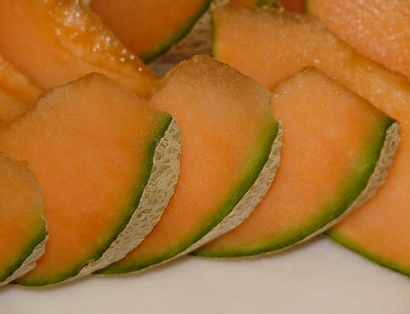 Cantaloupe Drink Food Yellow Creamy Melon Canary M