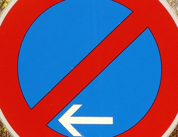 Limited Parking Ban Traffic Transportation Shield