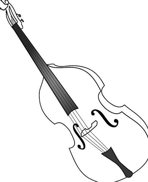 Violoncello Melody Instrument Tool Music Free Vect
