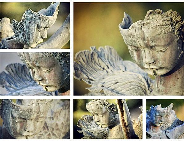 Collage Collection Landscapes Figurine Nature Park