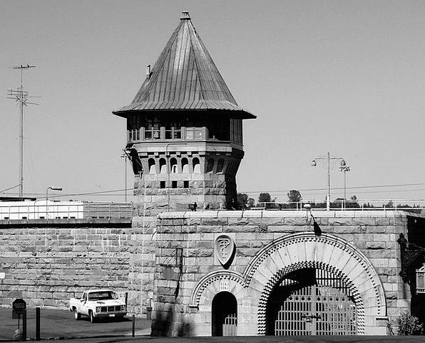 Prison Custodial Buildings Entrance Architecture B