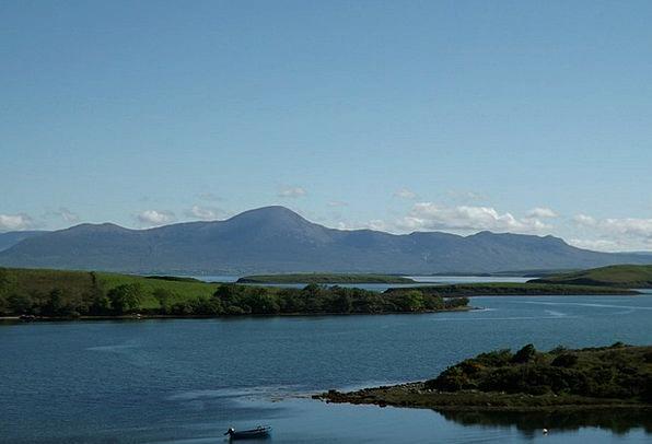 Ireland Landscapes Nature Lough Corrib County Galw