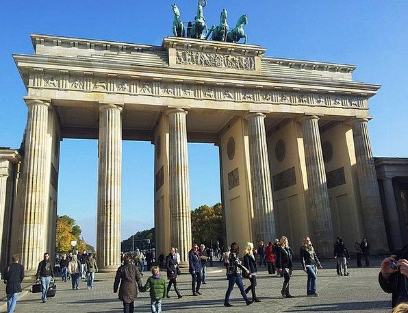 Brandenburg Goalmouth Berlin Goal Columnar Paris L