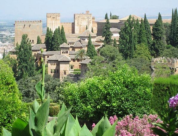 Alhambra Buildings Architecture Building Structure
