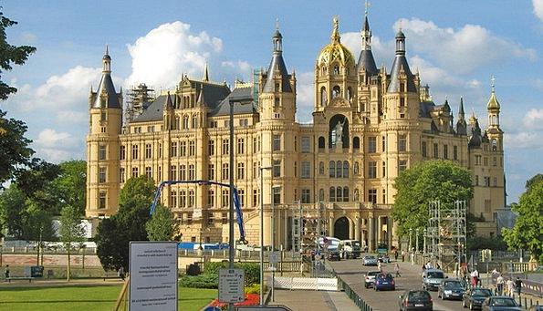Schwerin Fortress Germany Castle