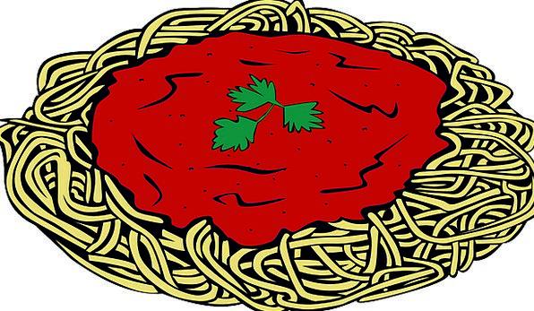 Spaghetti Pasta Spaghetti Sauce Free Vector Graphi