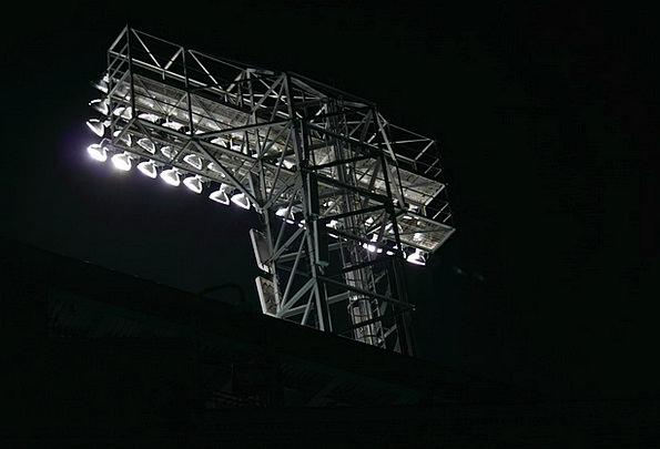 Park Common Illuminations Baseball Lights Athlete