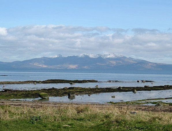 Seamill Landscapes Nature Arran Scotland Clyde Isl