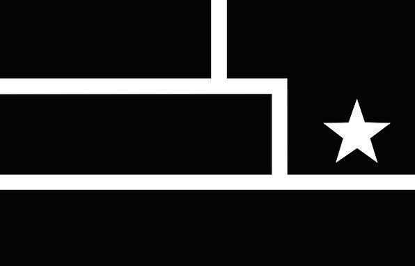 Flag Standard Dark Star Interstellar Black Resista