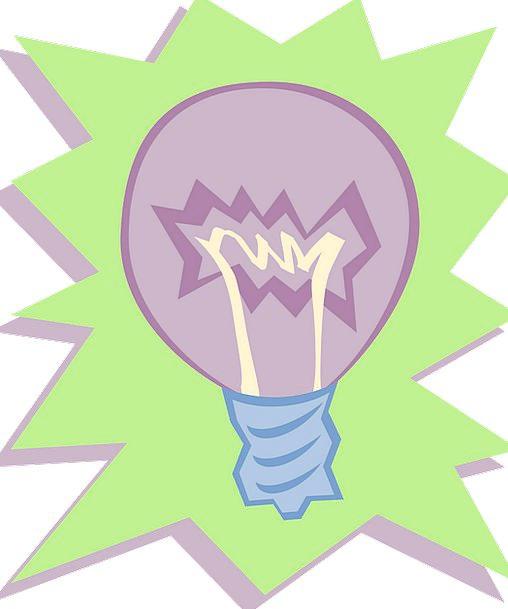 Light Bulb Electronic Idea Impression Electric Inn