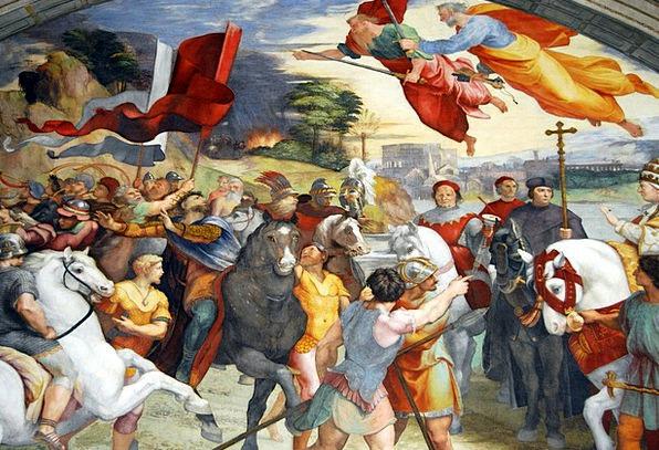 Vatican Mural Vatican Museums Fresco Eleodoro Room