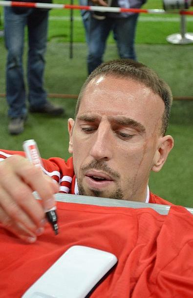 Ribery Star Interstellar Bayern Munich Football Ba