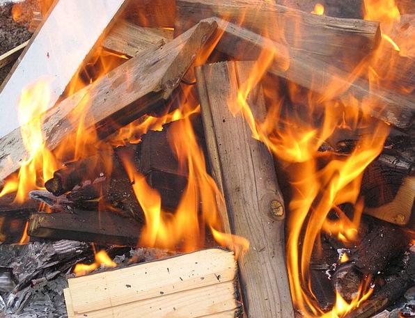Fire Passion Blaze Campfire Flame Hot Warm Burn He