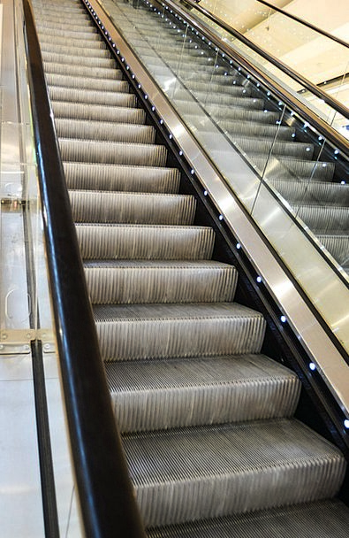 Stairs Staircases Movable Shopping Mall Mall Mobil