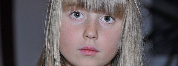 Child Youngster Lassie Face Expression Girl Close