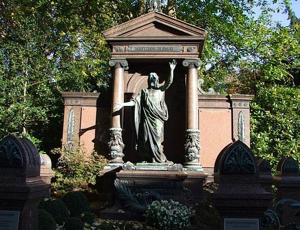 Sepulchre Graveyard Last Calm Cemetery Sad Death D
