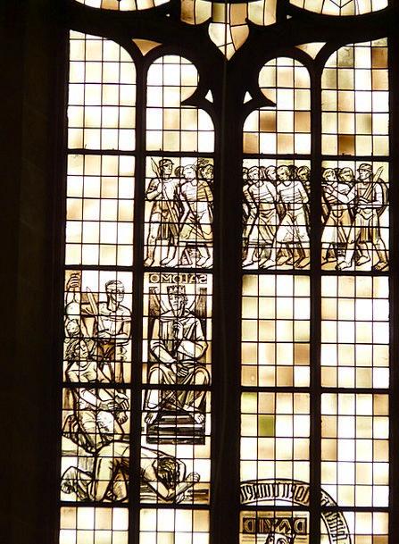 Church Window Abstract Nonconcrete Glass Window Ul