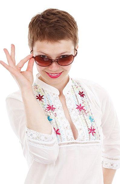 Cute Attractive Fashion Style Beauty Female Femini