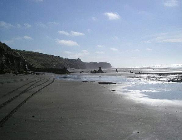 New Zealand Vacation Seashore Travel Sand Beach Be
