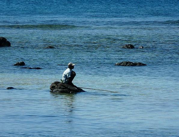 Angler Mauritius Mauritian Angling Indian Ocean Si