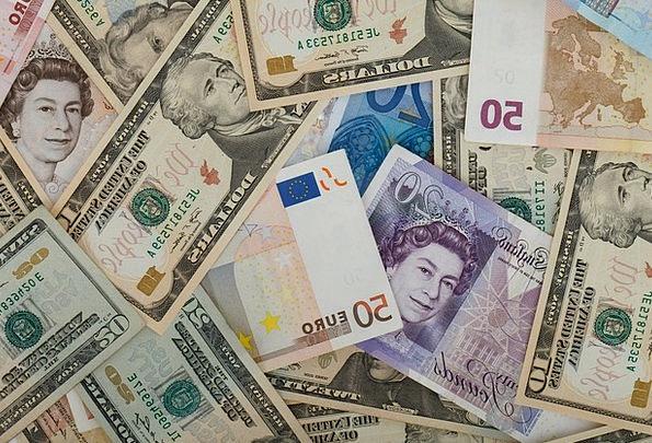 Mixture Combination Finance Moneys Business Financ